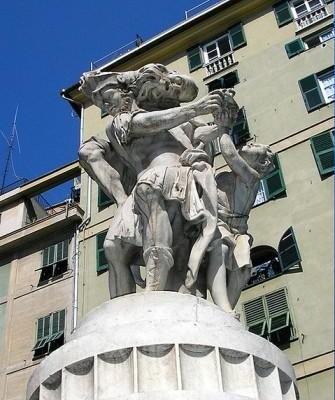statua enea anchise ascanio